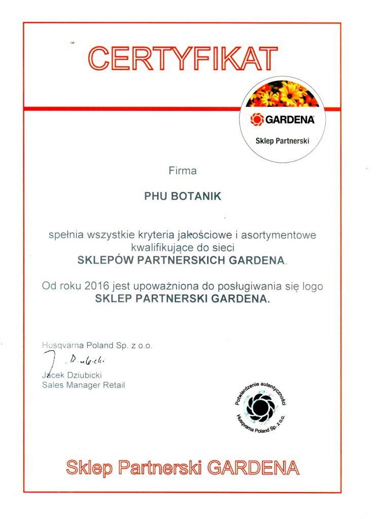 Sklep Partnerski GARDENA